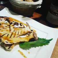 Grilled Mushrooms at La Lune
