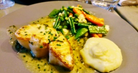 Scallops at Bistrot Cocottes