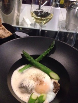 Egg dish at La Superb